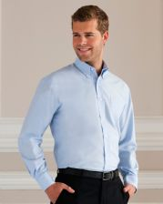 932M Russell Collection Men's Long Sleeve Easy Care Oxford Shirt